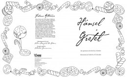 Hänsel e Gretel. Colouring book
