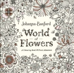 World of Flowers. A Colouring Book and Floral Adventure kolorowanka