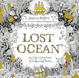 Lost Ocean An Inky Adventure & Colouring Book kolorowanka